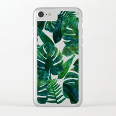 Perceptive Dream || #society6 #tropical #buyart Clear iPhone Case