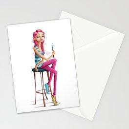 Rose Madder Stationery Cards