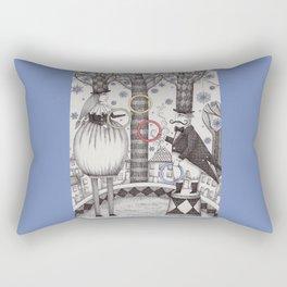 Winter Circus Rectangular Pillow