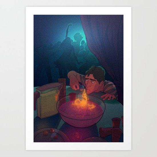 The love potion Art Print
