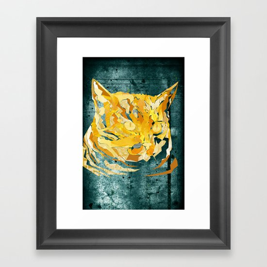 Wildcat Framed Art Print