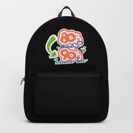 Eighties Baby Nineties Made Me Backpack