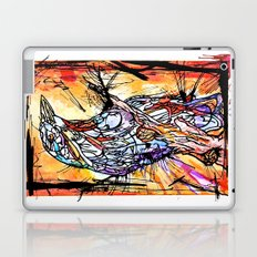 The Beautiful Bird Is The One Who Gets Caged Laptop & iPad Skin