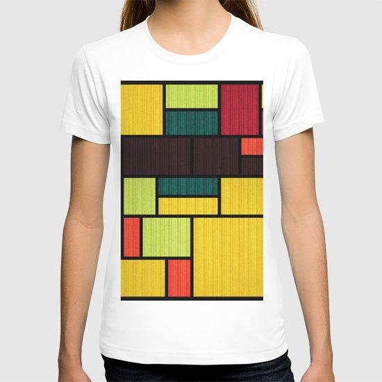 Mondrian Bauhaus Pattern #09 by kapstech