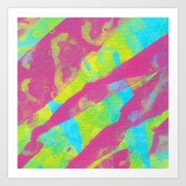Summer Splash XL Art Print