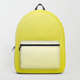 Simply sun yellow color gradient - Mix and Match with Simplicity of Life Backpack
