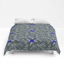 Making Waves Gray Comforters