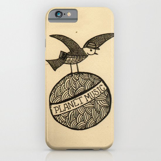 planet music iPhone & iPod Case