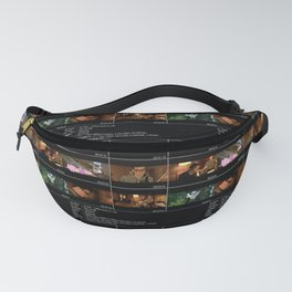 Lives In A Beetlebum Blurry House Fanny Pack