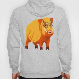Benevolent Funny Boar Pig Hoody