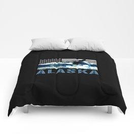 Alaskan Orca Comforters
