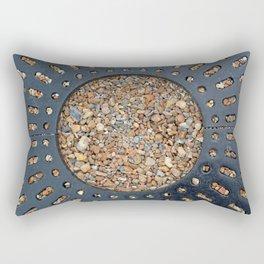 Pebble Circle Rectangular Pillow