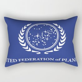 United Fed of Planets Rectangular Pillow