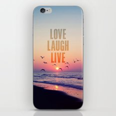 Love life iPhone & iPod Skin