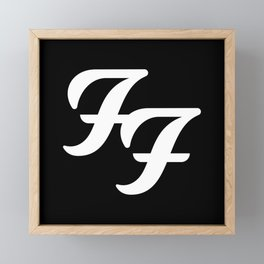 FooFighters Framed Mini Art Print