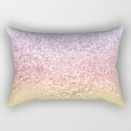 Summer Unicorn Girls Glitter #1 #shiny #pastel #decor #art #society6 Rectangular Pillow