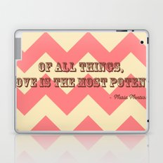 Chevron Love Laptop & iPad Skin