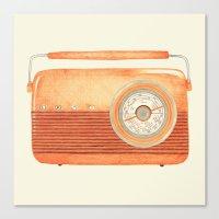 Radio Silence Canvas Print