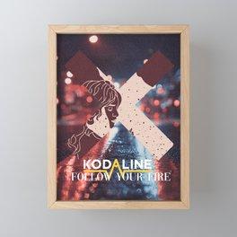 Kodaline - Follow Your Fire Framed Mini Art Print