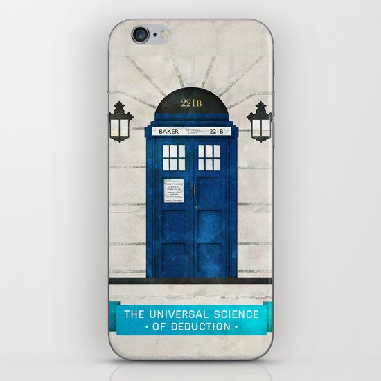 Doctor Who & Sherlock iPhone & iPod Skin