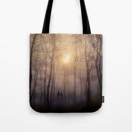 Eternal walk by Viviana Gonzalez Tote Bag