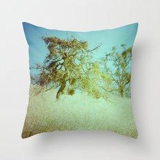 False Spring Throw Pillow