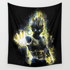 The Prince of all fighters Wall Tapestry