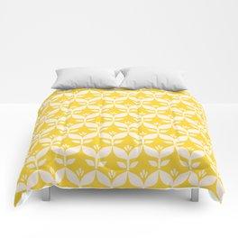 Happy retro 4 Comforters