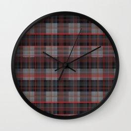 rustic chess • dark side Wall Clock