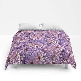 Abstract flowers Comforters