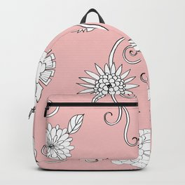 Sweet daisies on bubble gum pink Backpack