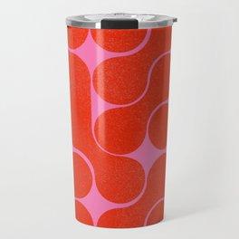 Abstract mid-century shapes no 6 Travel Mug