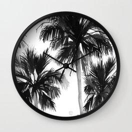Paradis Noir VIII Wall Clock
