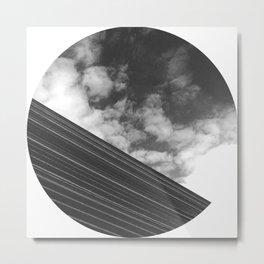 Metallic Stream  Metal Print