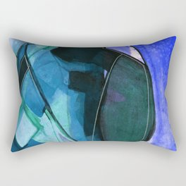 Abstraction 317I by Kathy Morton Stanion Rectangular Pillow
