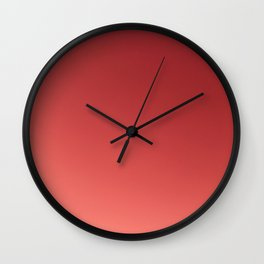Persimmon Sunrise Wall Clock
