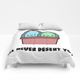 I'll Never Desert You Comforters