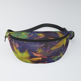 Candys Crazy Cannabis Camo 4 Fanny Pack