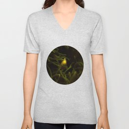 Hiding in the shadows but seen in the light Unisex V-Neck