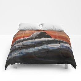 Black Tusk Comforters