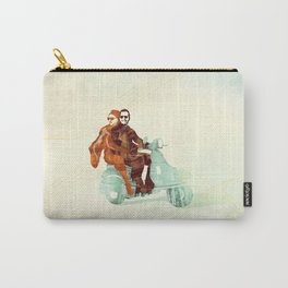 Vintage Italian Carry-All Pouch
