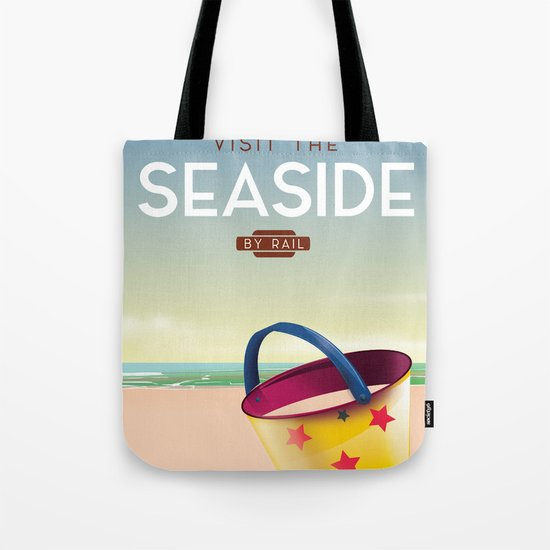 Visit the Seaside travel poster by nicholasgreen