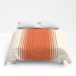 Marmalade & Crème Vertical Gradient Comforters
