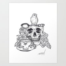 Tea Party Art Print