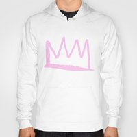crown Hoodies featuring Crown by schillustration