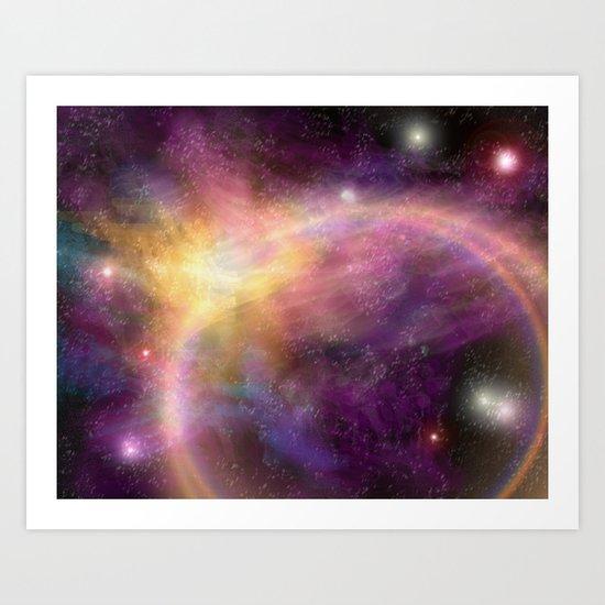 Nebula VI Art Print