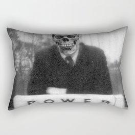 Power Rectangular Pillow