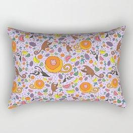 Cute Tropical Pattern Rectangular Pillow