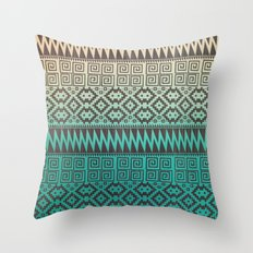 Pixel Pattern Throw Pillow