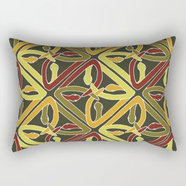 earth protractor snakes Rectangular Pillow